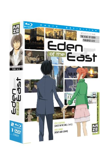 Eden of the east - intégrale des Films (The King of Eden et Paradise Lost) [Blu-ray]