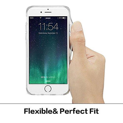iPhone 5 Silikon Handyhülle,iPhone 5S Gel Cover,CLTPY [Kratzfeste] [Stoßfest] Transparent Klar Malerei Muster Design TPU Bumper Etui Case für iPhone SE,Ultra Dünn Super Leicht Soft [Perfekt Passen] Sc Banane
