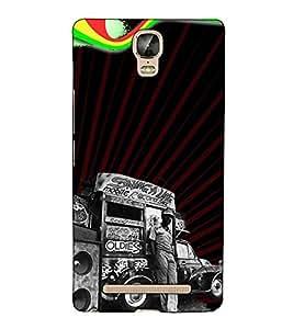 Fuson Designer Back Case Cover for Gionee Marathon M5 Plus (Mobile record shop)
