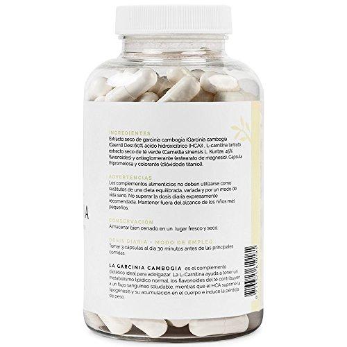 Quemagrasas natural a base de Garcinia Cambogia+L-Carnitina+
