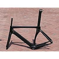 317# Toray Carbon Frameset Full Carbon UD Matt Road bike Frame 50cm Fork Seatpost Headset Seat Plug BB