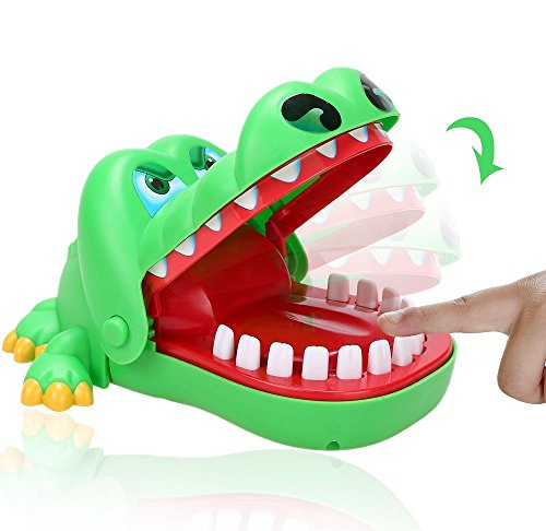 ILOVEDIY Klassischen bissig Hand Krokodil Spiel Spielzeug für Kinder Geschenk