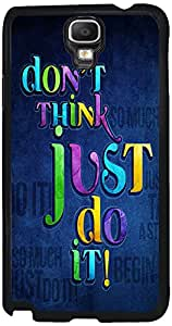 Printvisa 2D-SGN3N-D8046 Quotes Attitude Case Cover For Samsung Galaxy Note 3 Neo 3G Sm-N750