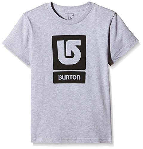 Burton LG Vert FLL-T-shirt maniche corte, Ragazzo, T-Shirt LG Vert FLL Short Sleeve, Grigio erica, S