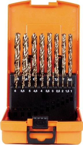 Projahn 67381 Boîte en plastique pour 19 forets HSS-Co 1-10 mm