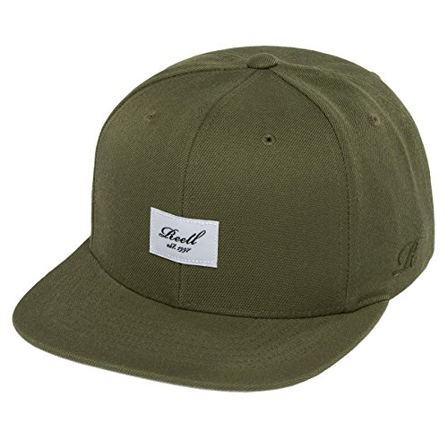 Reell Jeans Herren Caps / Snapback Cap Base olive Verstellbar