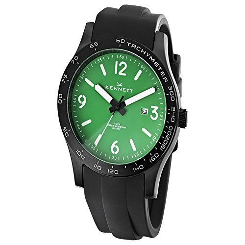 Kennett WALTGNWHPBK Mens Altitude Green and White Black Sports Watch