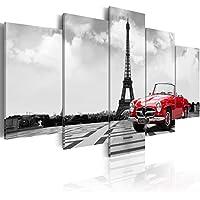 murando - Cuadro en Lienzo 200x100 cm - Impresion en Calidad fotografica - Cuadro en Lienzo Tejido-no Tejido - Paris Coche 030106-11
