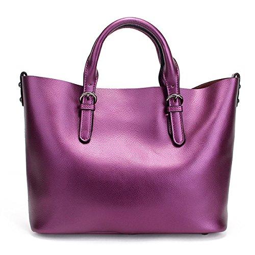 Frau Tasche Tote Bag Handtasche Purple