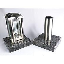 suchergebnis auf f r grablaterne mit sockel und vase. Black Bedroom Furniture Sets. Home Design Ideas