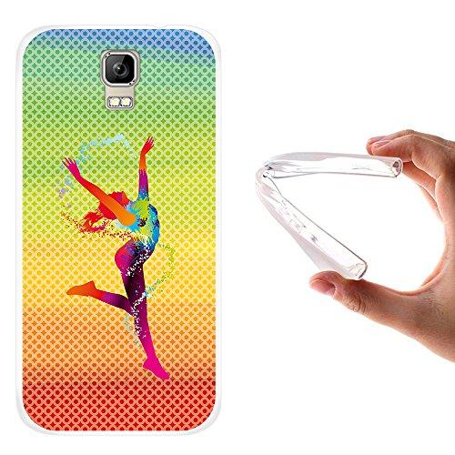 funda-umi-rome-woowcase-umi-rome-funda-silicona-gel-flexible-chica-bailando-con-manchas-de-color-fon