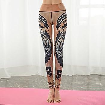 Jialele Yoga Pants Yoga Leggings Print Yoga Pants Yoga Pant_repair Height Pop Video Thin Stamp, The Tiger Series L 3