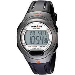 Timex Ironman Unisex Quartz Sport Full-size Watch with Digital Display and Resin Strap