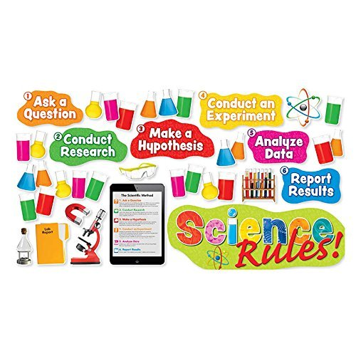 Scholastic Science Rules Bulletin Board Set by Scholastic Teaching Resources