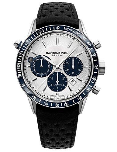 Raymond Weil Freelancer Automatic orologio cronografo blu sub-dial...