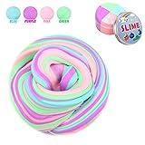 Fluffy Slime, 7 OZ Multicolore Stretchy & Soft profumato stucco non appiccicoso Floam Slime Slime giocattoli di fango profumato giocattolo per bambini e adulti-4 colori
