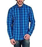 Enryca Men's Casual Shirt(ENMSH 0099BLUE...