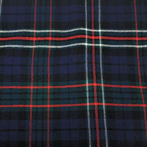 Sinclair Hunting Moderner Tartan-Stoff, 100% reine Wolle, hergestellt in Schottland, 284 g -