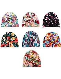 BrilliantDay Set di 7 pezzi Berretto bambini Soft Touch Cappello unisex per  neonati e bambini  8b16e5aa373c