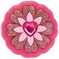 Crocs Rhinestone Heart Flower Shoe Decoration Charms, Multicolour (-), One Size