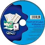 Print Profi 4.0 Druck-Software f�r CD-/DVD-Labels, Einleger & Etiketten Bild