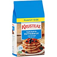 Krusteaz Buttermilk Complete Pancake Mix Just Add Water 4.53kg Reusable Pouch