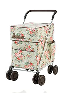 """Little Donkee in our 35th Anniversary Print, The Little Donkee stands 37"""" to 40"""" at the handle. This is a PUSH version of the Donkee, a PULL version is available."""