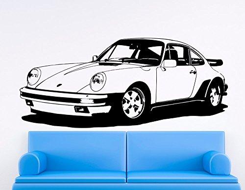 sticker-mural-porsche-911-turbo-930-vinyle-noir-large