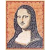 Cocido-2013-imagen en mosaico-Mona Lisa, 27 x 34 cm