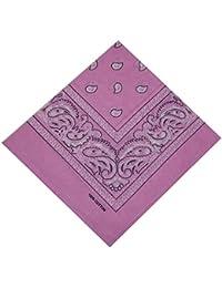563018d7d05e Bandana 100% Coton Original Paisley Foulard accessoire Bandeau cheveux  Echarpe Mouchoirs Homme Femme Enfant