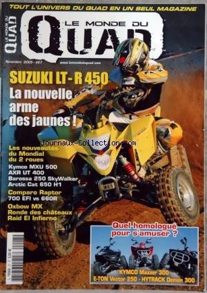 Quad Hytrack - MONDE DU QUAD (LE) [No 27] du