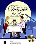 Dinner for Two - Cinq pièces romantiques pour piano à 4 mains - Livre de notes avec CD Playback-CD - Bearbeiter Mike Cornick - UE21455 / 9783702475659