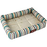 Yiuu Cama para Mascotas Summer Cool Pet Nest Kennels Resistente A Las Mordiscos Cool Mat Dog Pad Pet Supplies Cat Nest,001,M:50 * 40Cm