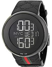 Gucci Reloj de Pulsera para Hombre XL Digital Caucho YA114207 13fa08e40ad