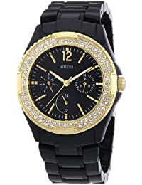 5e465b7f6458 Amazon.es  GUESS - Negro   Relojes de pulsera   Mujer  Relojes