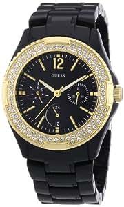 Guess Damen-Armbanduhr Analog Quarz Plastik W0062L8