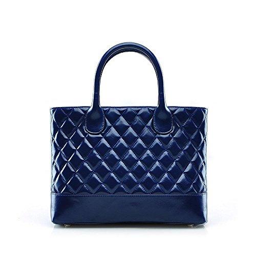 Sac à main à bandoulière épaule de style Designer pour femme , orange Blue