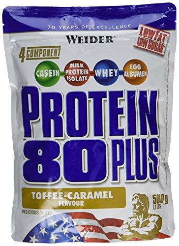 Weider Protéines en poudre Protein 80+  Caramel  500 g