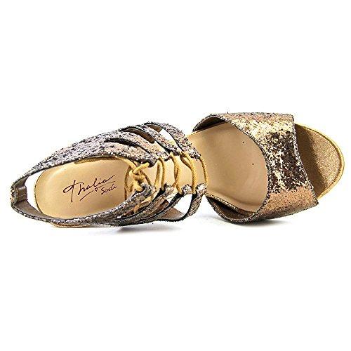 Thalia Sodi Rhumba Synthetik Sandale Bronze