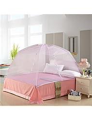 YWQ Yurts doble abrir la puerta mosquitero estudiantes tienen un solo dormitorio de estudiantes 1 / 1.2 / 1.5 / 1.8m cama de arroz , B , 80*120cm