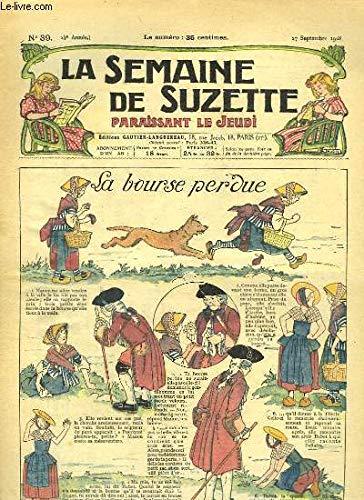 La Semaine de Suzette n°39 : La bourse perdue. par GAUTIER Henri & COLLECTIF