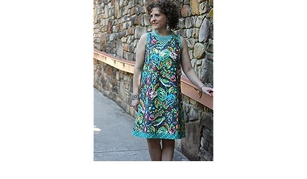 Serendipity Studio Damen Schnittmuster 151 die Mia Shift Kleid ...