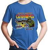 HARIZ  Jungen T-Shirt A Day Without Gaming Gamer Gaming Sprüche WASD Geburtstag Plus Geschenkkarte Royal Blau 98/2-3 Jahre