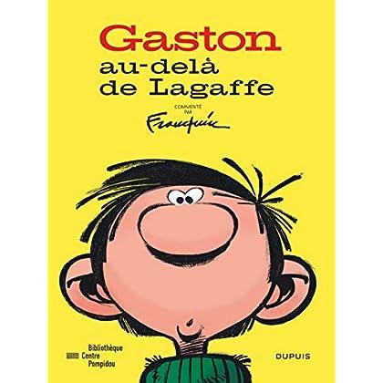 Gaston - Au-delà de Lagaffe (catalogue de l'expo à la BPI) - tome 1 - Au-delà de Lagaffe (catalogue expo)