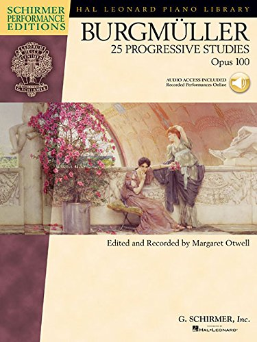 25 Progressive Pieces, Opus 100 Piano +Enregistrements Online (Schirmer's Library of Musical Classics)
