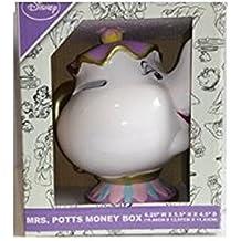 Primark Sra. Potts de cerámica caja de dinero grande (raro tema Chip, madre de la taza de belleza y la bestia