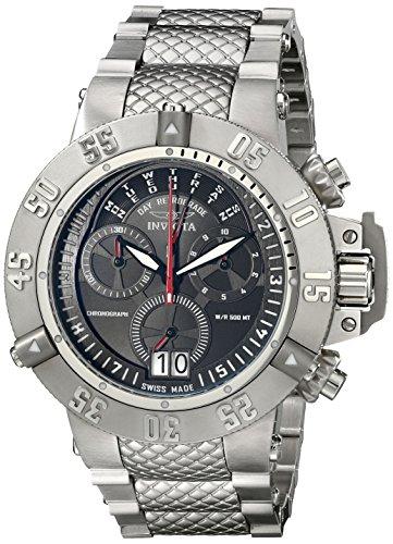 Invicta Men's 17611 Subaqua Subaqua Quartz Multifunction Black Dial Watch