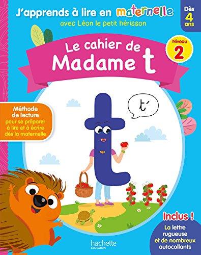Le cahier de madame t Niv. 2 par Collectif