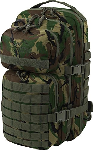 US Rucksack I Daypack - Praktischer Rucksack der US Army Farbe Woodland
