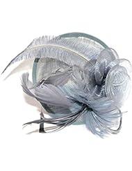 Bibi chapeau de cérémonie, pour mariage ou grande occasion-4618